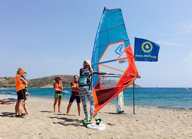 Surf Clinics at Kouremenos Beach
